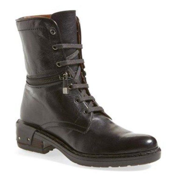 Alberto Fermani Convertible Tolve Combat Boots